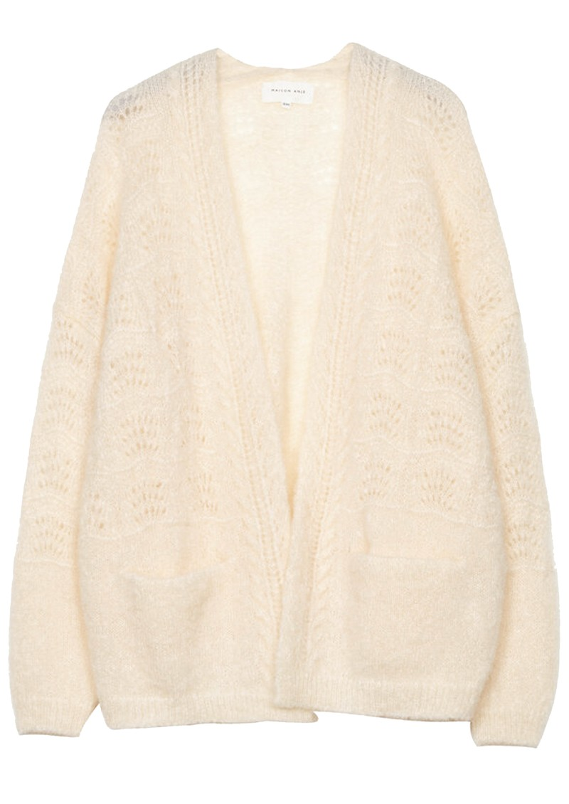 Lours Knitted Cardigan - Cream main image