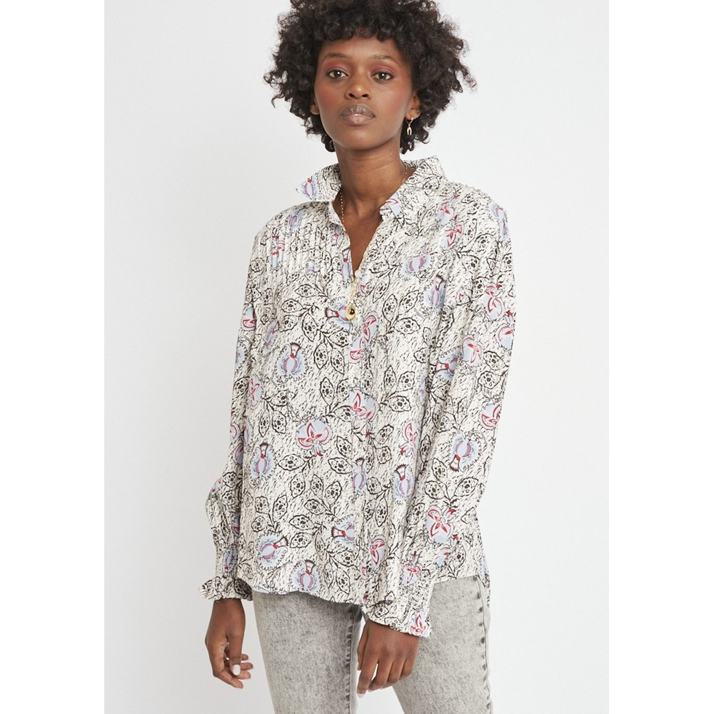 Cara Printed Blouse - Grace Bay