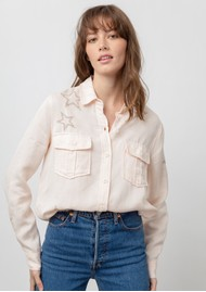 Rails Loren Shirt - Blush Star