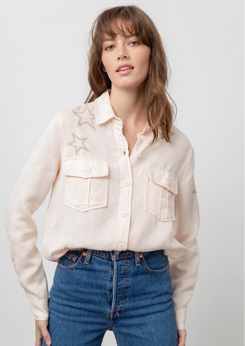 Rails Loren Shirt - Blush Star main image
