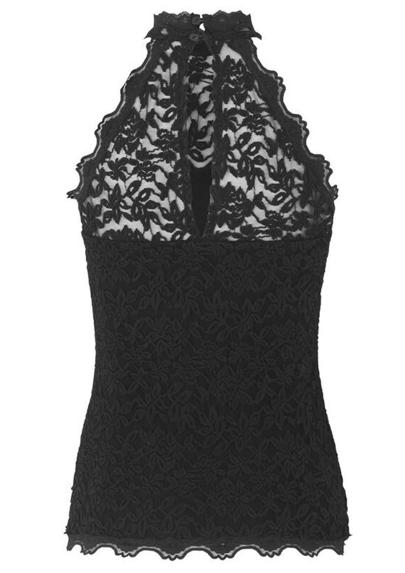 Rosemunde Delicia Lace Top - Black main image