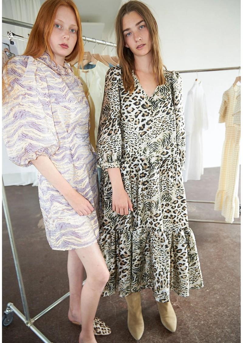 STELLA NOVA Luja Printed Dress - Leopard main image