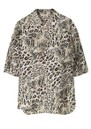 Lycie Printed Blouse - Leopard additional image