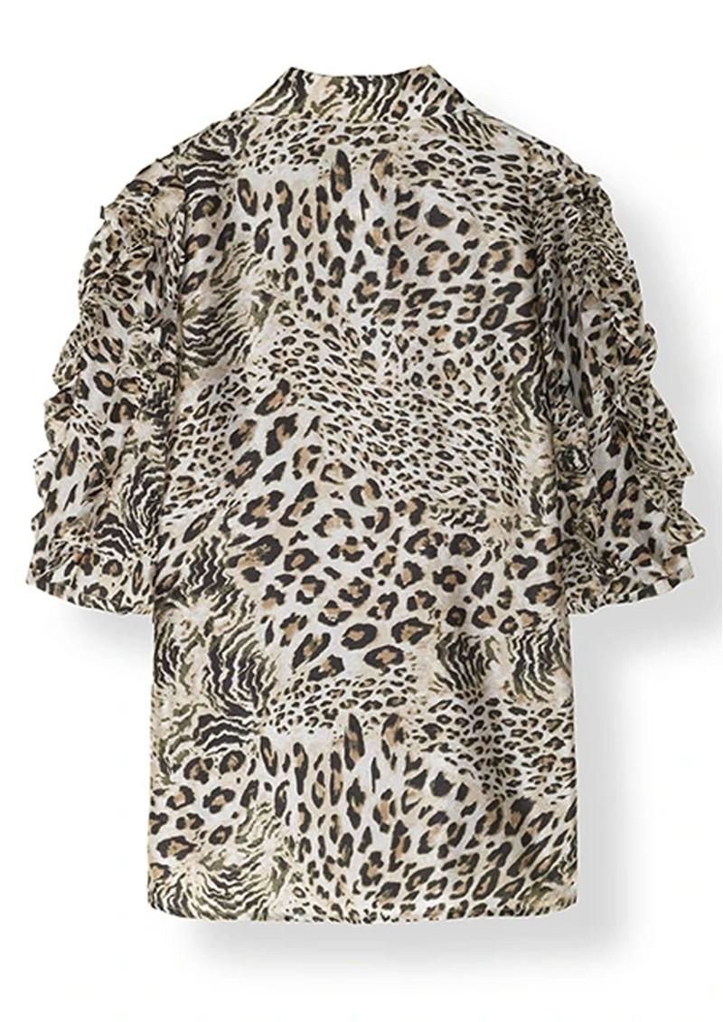 STELLA NOVA Lycie Printed Blouse - Leopard main image