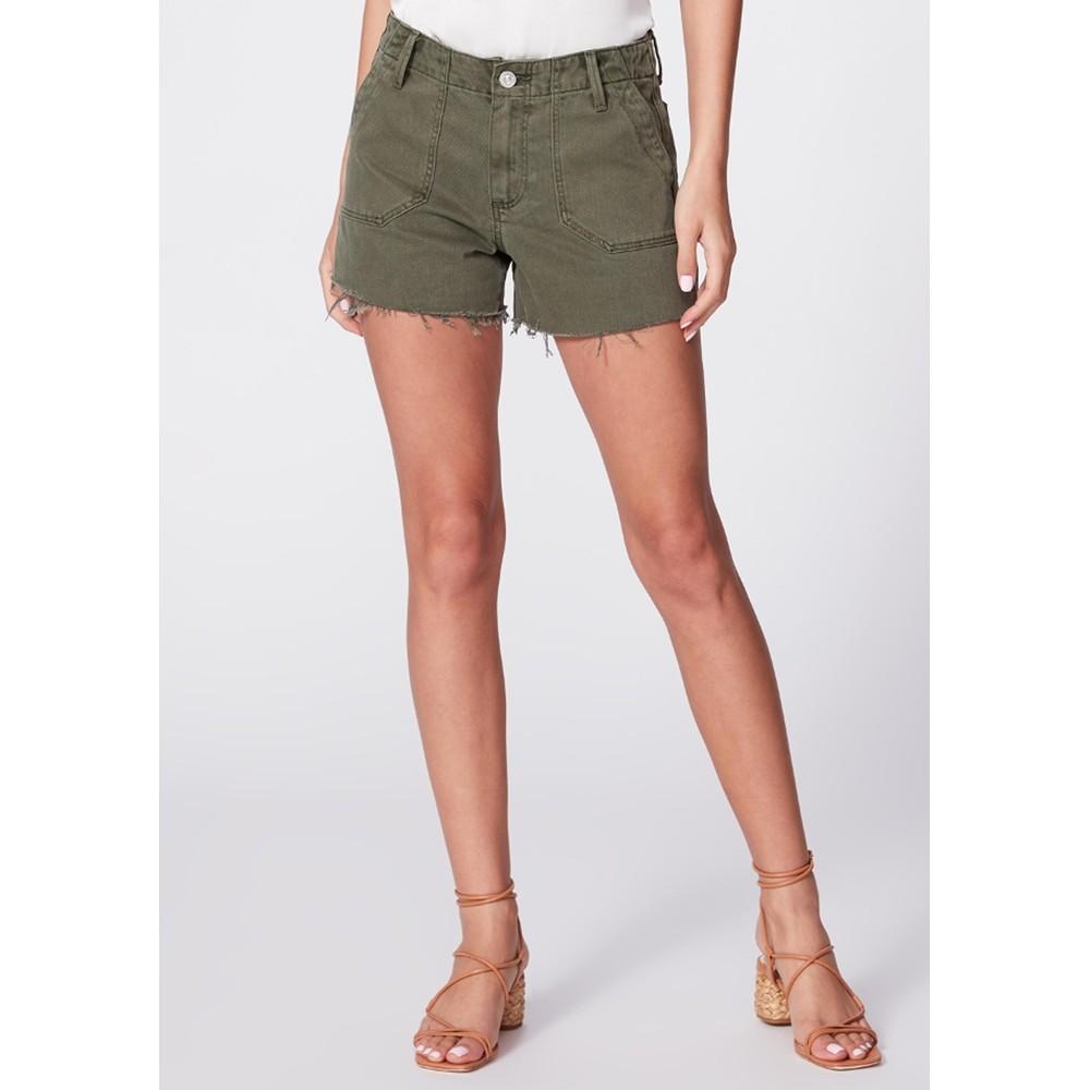 Mayslie Utility Shorts - Vintage Ivy Green
