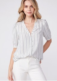 Paige Denim Provence Top - Arona Multi