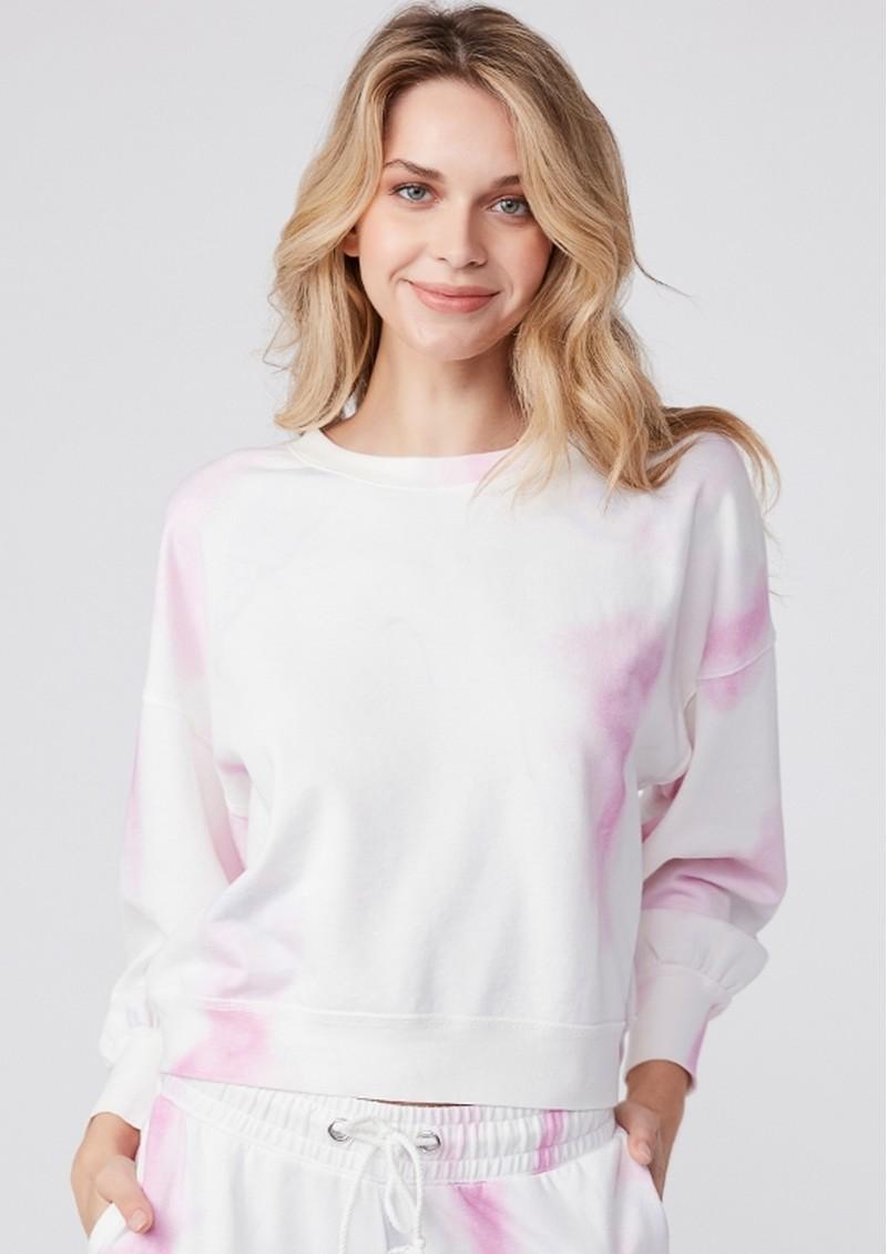 Paige Denim Lisbet Sweatshirt - Fuschia Multi main image
