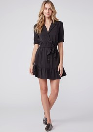 Paige Denim Mayslie Dress - Black