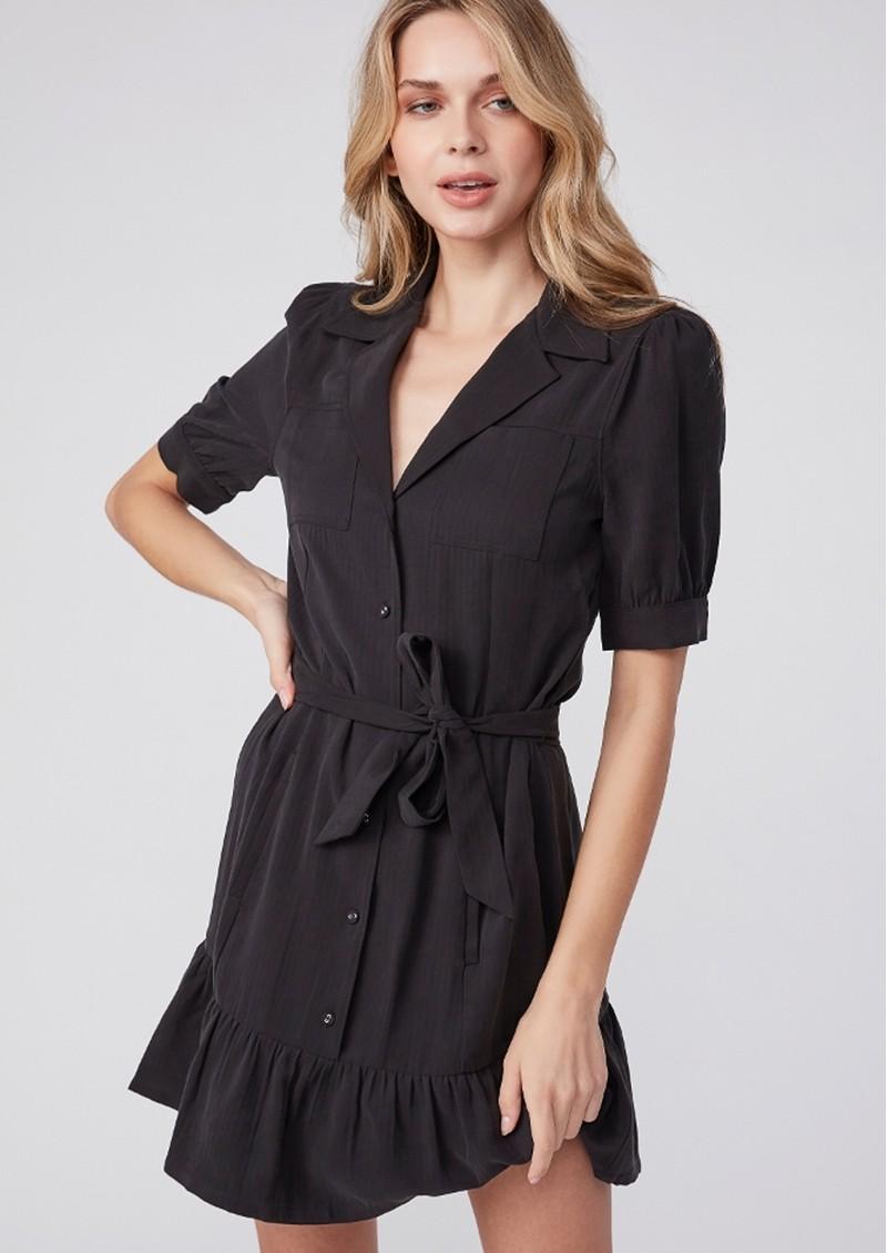 Paige Denim Mayslie Dress - Black  main image