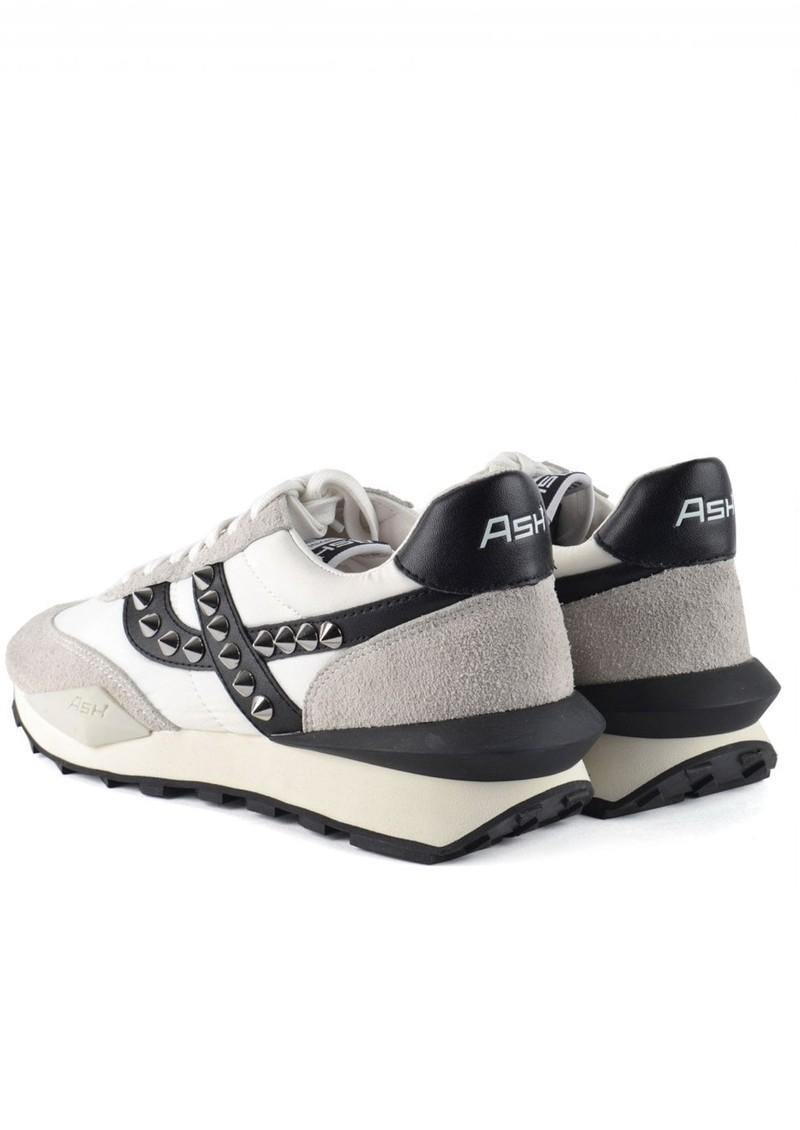 Ash Spider Studs Eco Trainers - Black & White main image