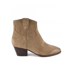 Houston Ankle Boots Brushed Suede - Wilde