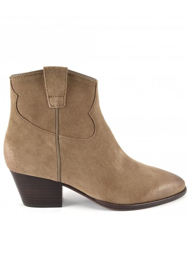 Ash Houston Ankle Boots Brushed Suede - Wilde  main image