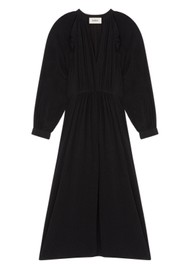 Ba&sh Ulla Midi Dress - Black