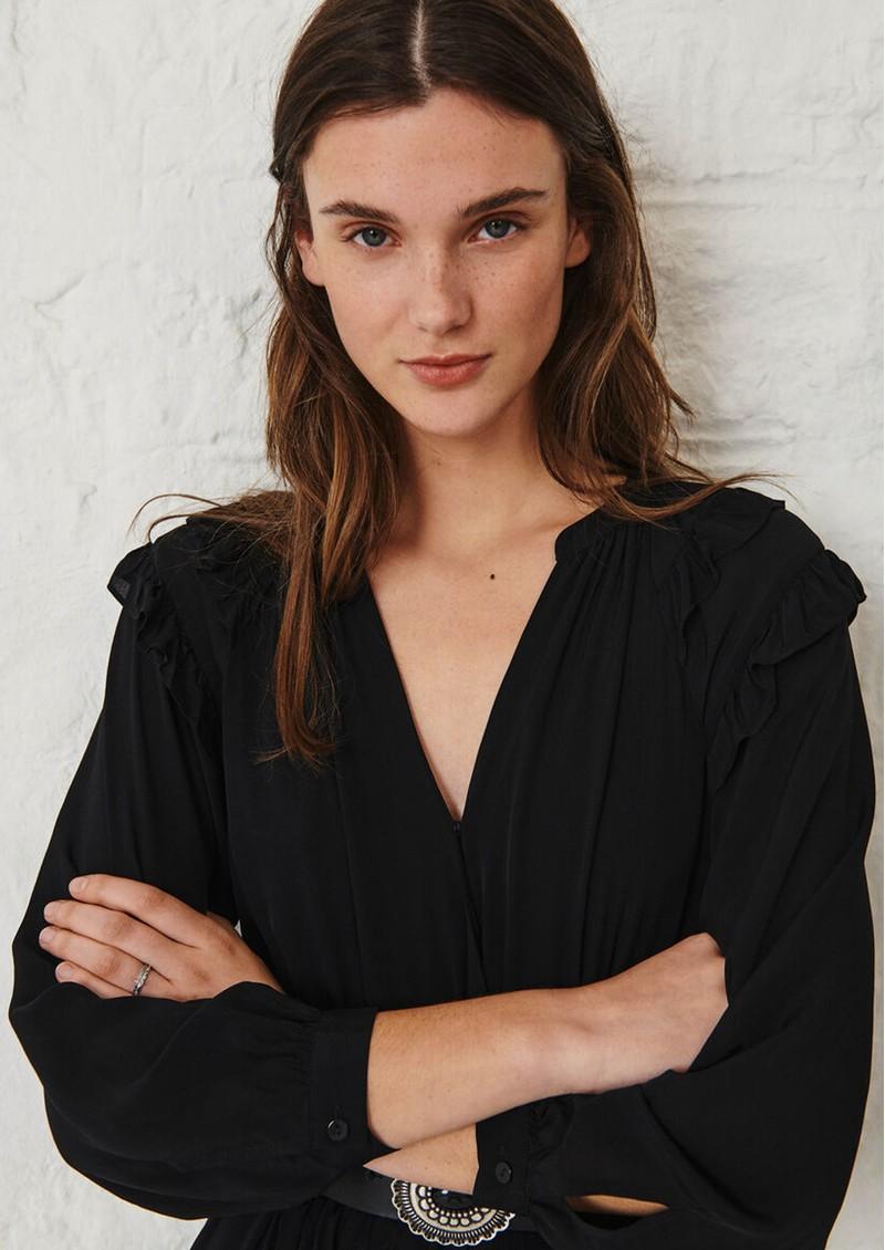 Ba&sh Ulla Midi Dress - Black main image