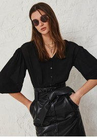 Ba&sh Ultra Blouse - Black