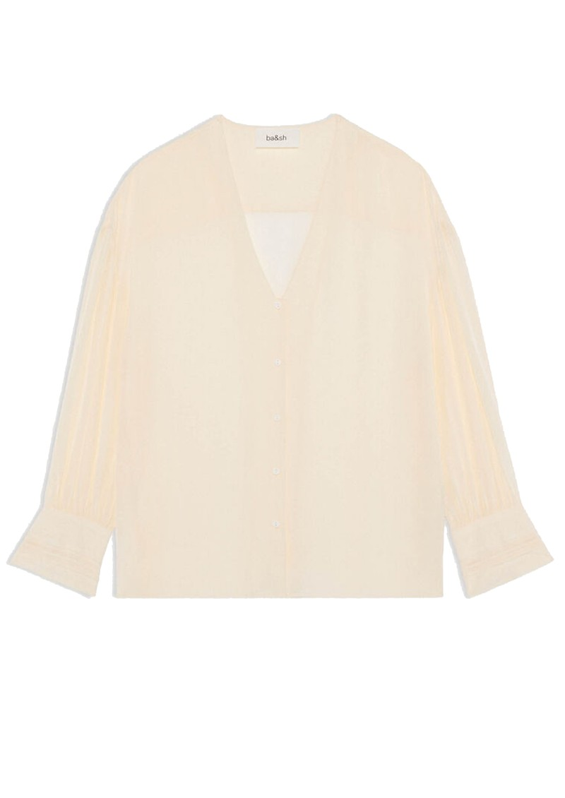 Ba&sh Ultra Blouse - Off White main image