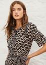 Colette Printed Cotton Shirt - Black additional image