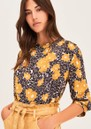 Bali Printed Blouse - Curry additional image