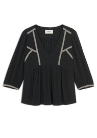 Ba&sh Amber Blouse - Black