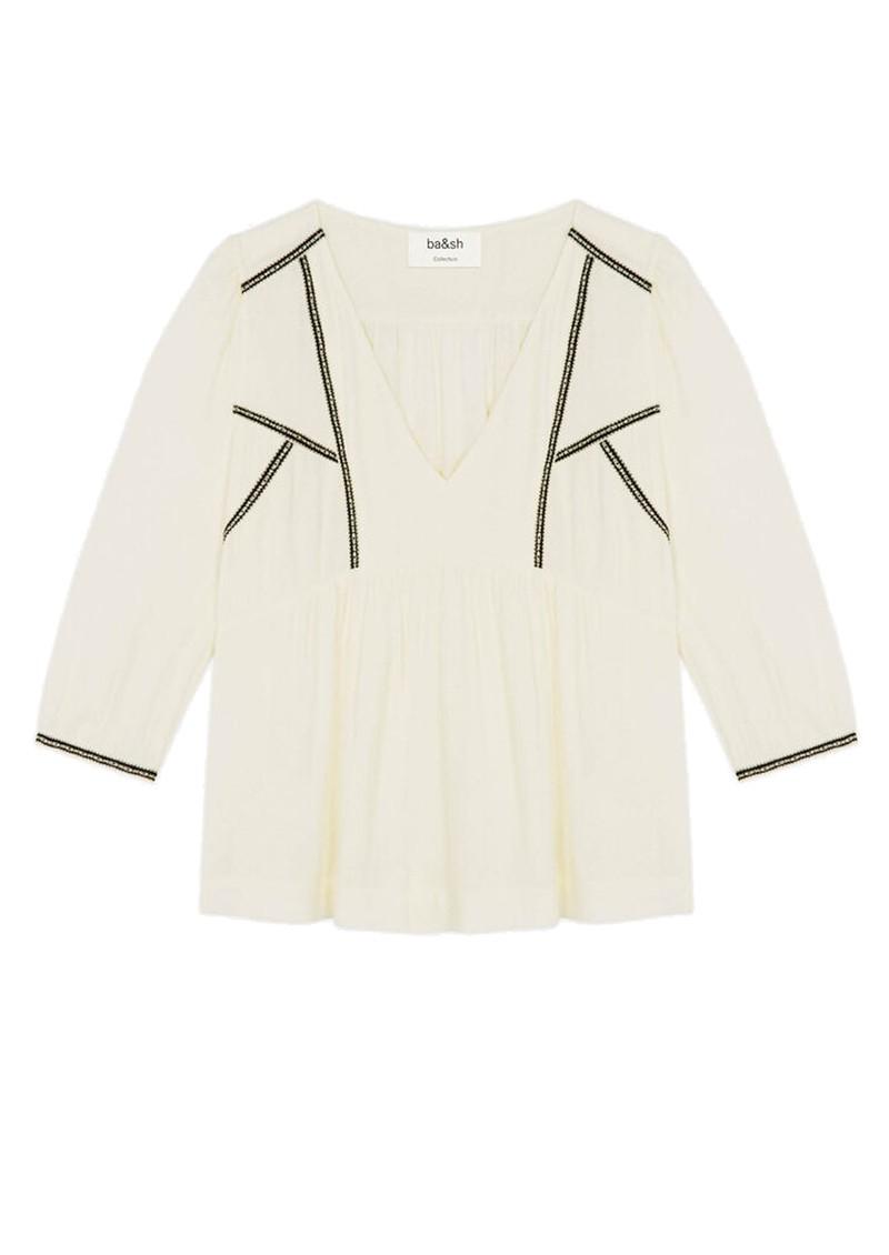 Ba&sh Amber Blouse - Off White  main image