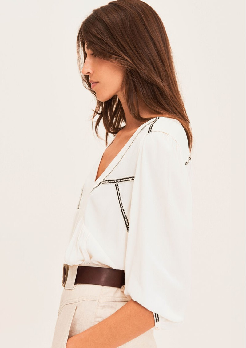 Amber Blouse - Off White  main image