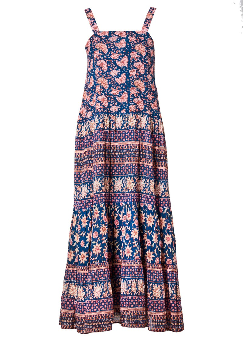 M.A.B.E Carli Cotton Sundress - Multi main image