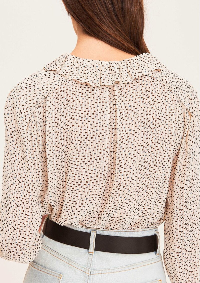 Anita Silk Mix Blouse - Off White main image