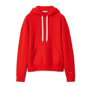 City Terry Organic Cotton Hoodie - Battle Red