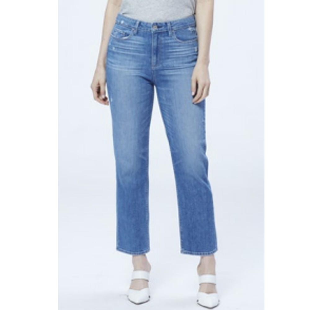Noella High Rise Relaxed Straight Leg Jeans - Casanova