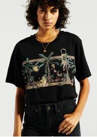 HAYLEY MENZIES Safari Pima Cotton T-Shirt - Black
