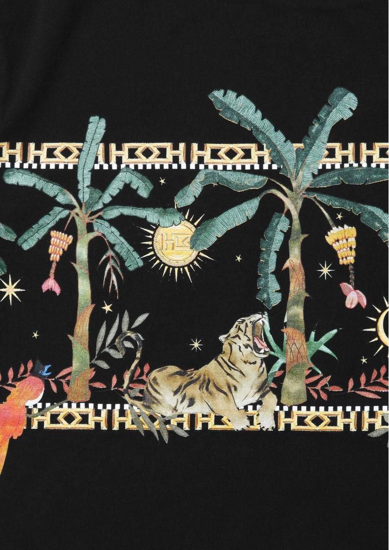 HAYLEY MENZIES Safari Pima Cotton T-Shirt - Black main image