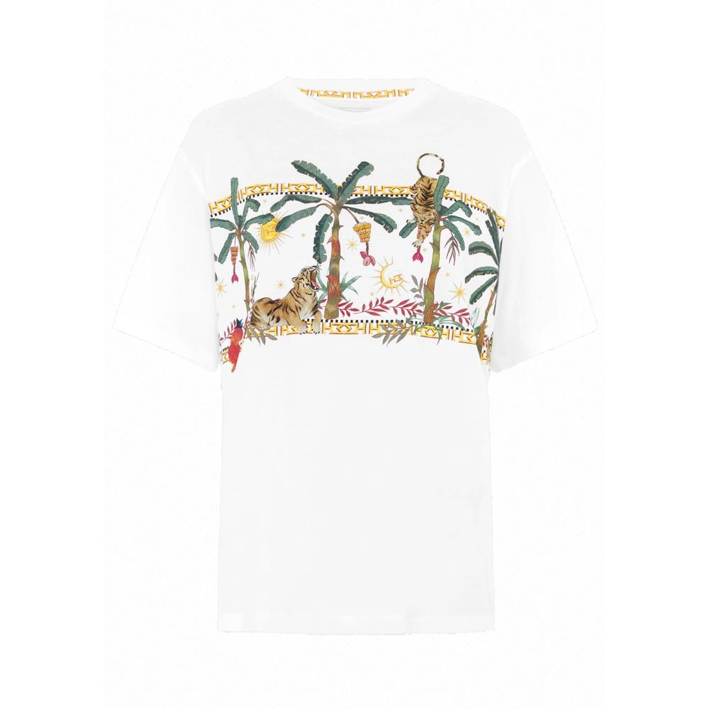 Safari Pima Cotton T-Shirt - White