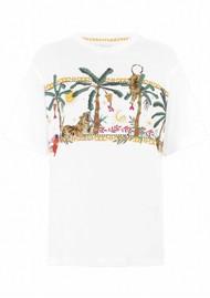 HAYLEY MENZIES Safari Pima Cotton T-Shirt - White