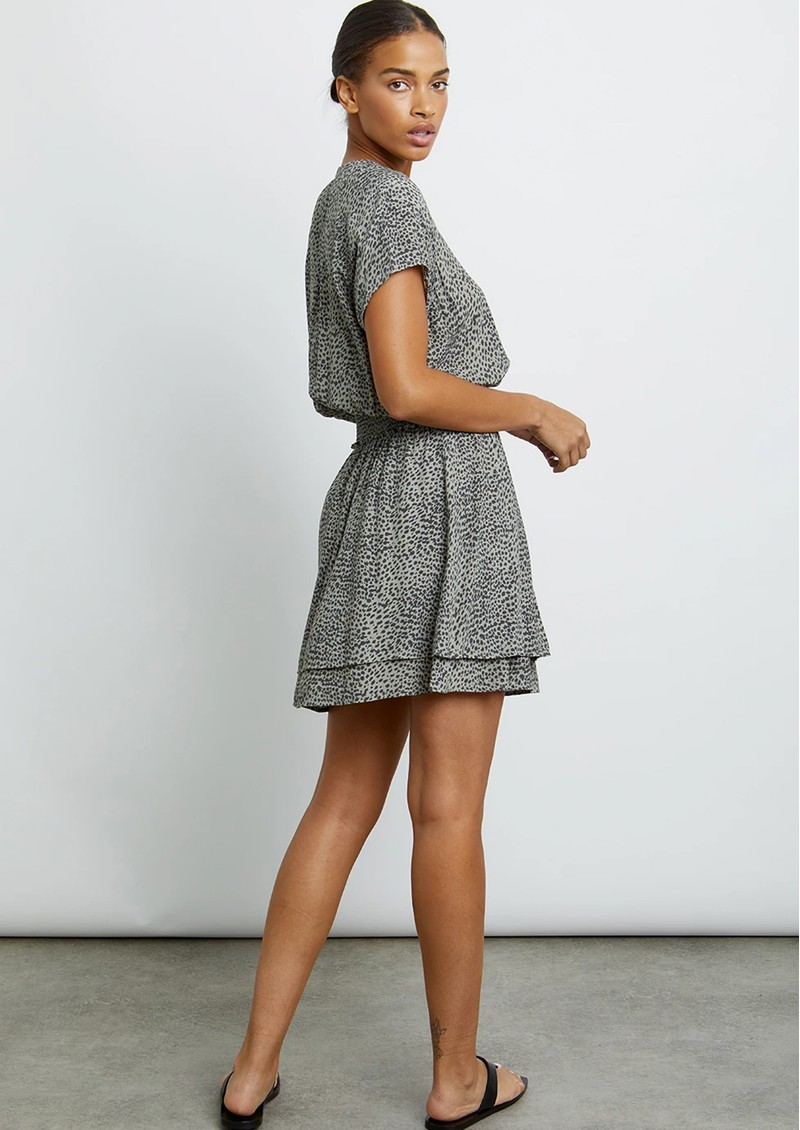Rails Karla Dress - Olive Lynx main image