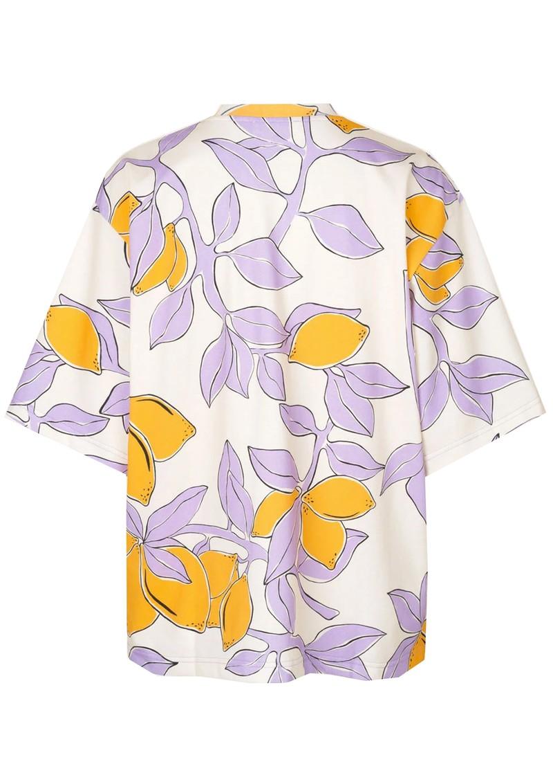 STINE GOYA Katalina Organic Cotton T-Shirt - Lemons main image
