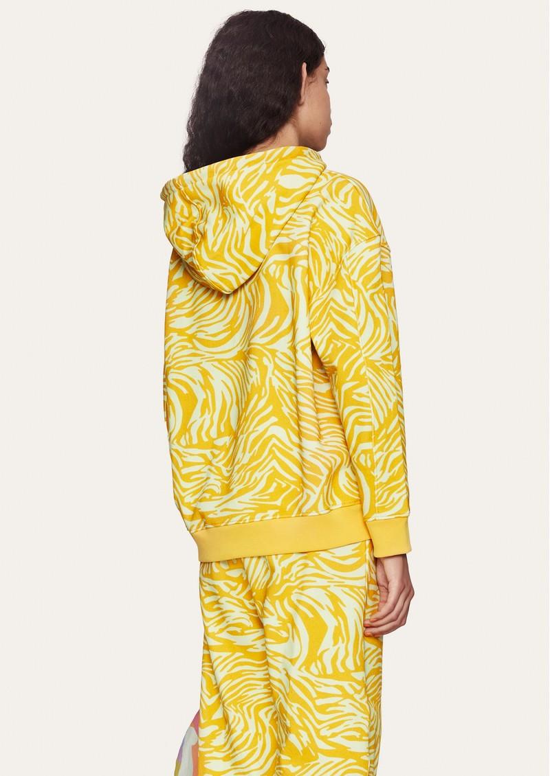 STINE GOYA Adrisa Organic Cotton Hoodie - Zebra Orange main image