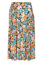 Paloma Midi Skirt - Watercolour Flora additional image