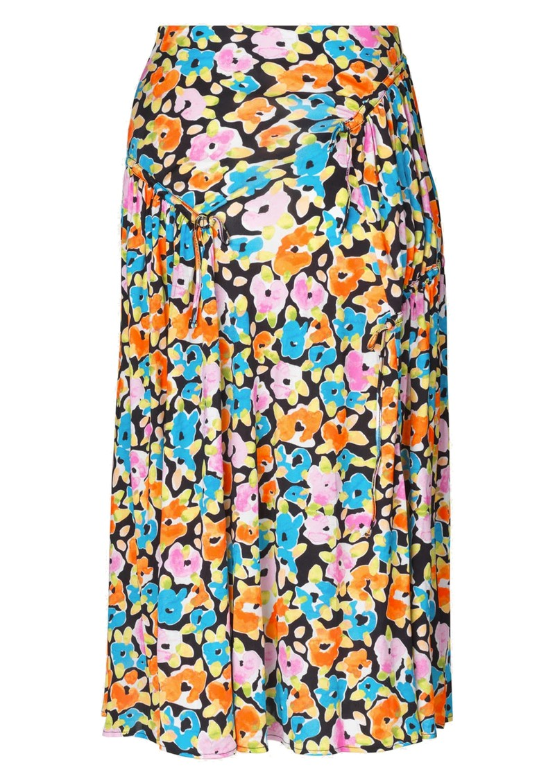 STINE GOYA Paloma Midi Skirt - Watercolour Flora main image