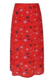 Mercy Delta Wray Silk Skirt - Starfish Wild