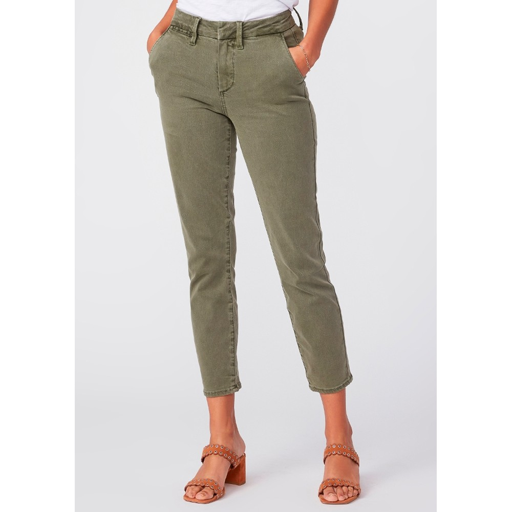 Romy Slim Trousers - Vintage Ivy Green