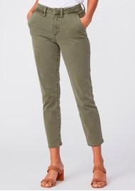 Paige Denim Romy Slim Trousers - Vintage Ivy Green