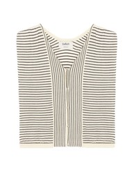 Ba&sh Lony Short Cardigan Top - Ecru