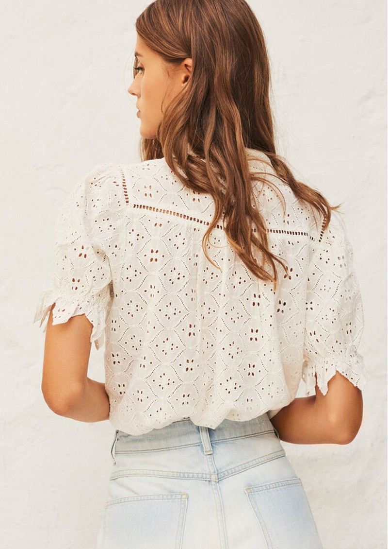Ba&sh Birkin Shirt - Ecru main image