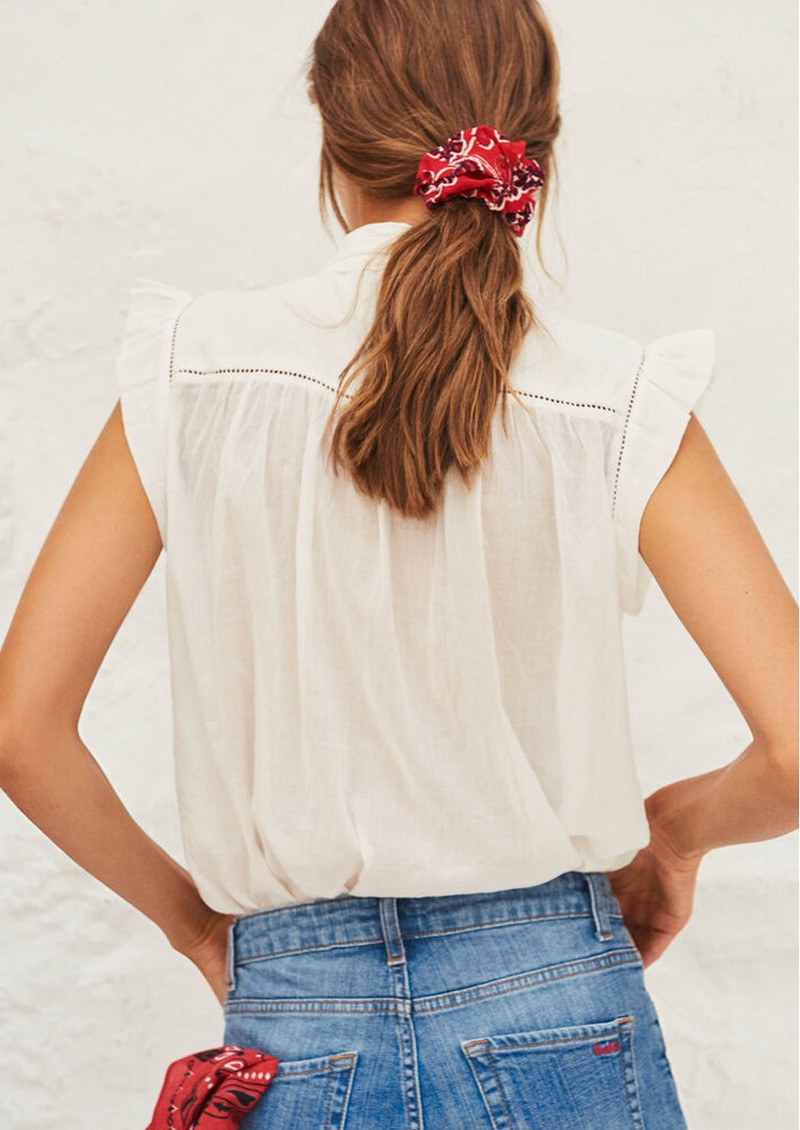 Ba&sh Bossa Shirt - Ecru  main image