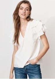 MAYLA Ellie Top - White