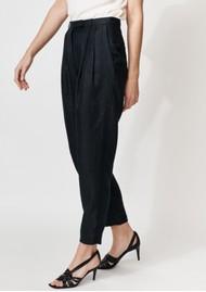 MAYLA Milo Linen Pants - Black
