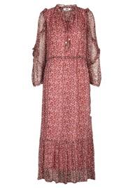 MOLIIN Pearl Floral Printed Dress - Aurora Pink