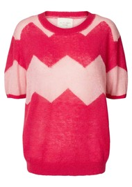 LOLLYS LAUNDRY Anton Jumper - Pink Stripe
