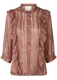 LOLLYS LAUNDRY Hanni Shirt - Dot Print