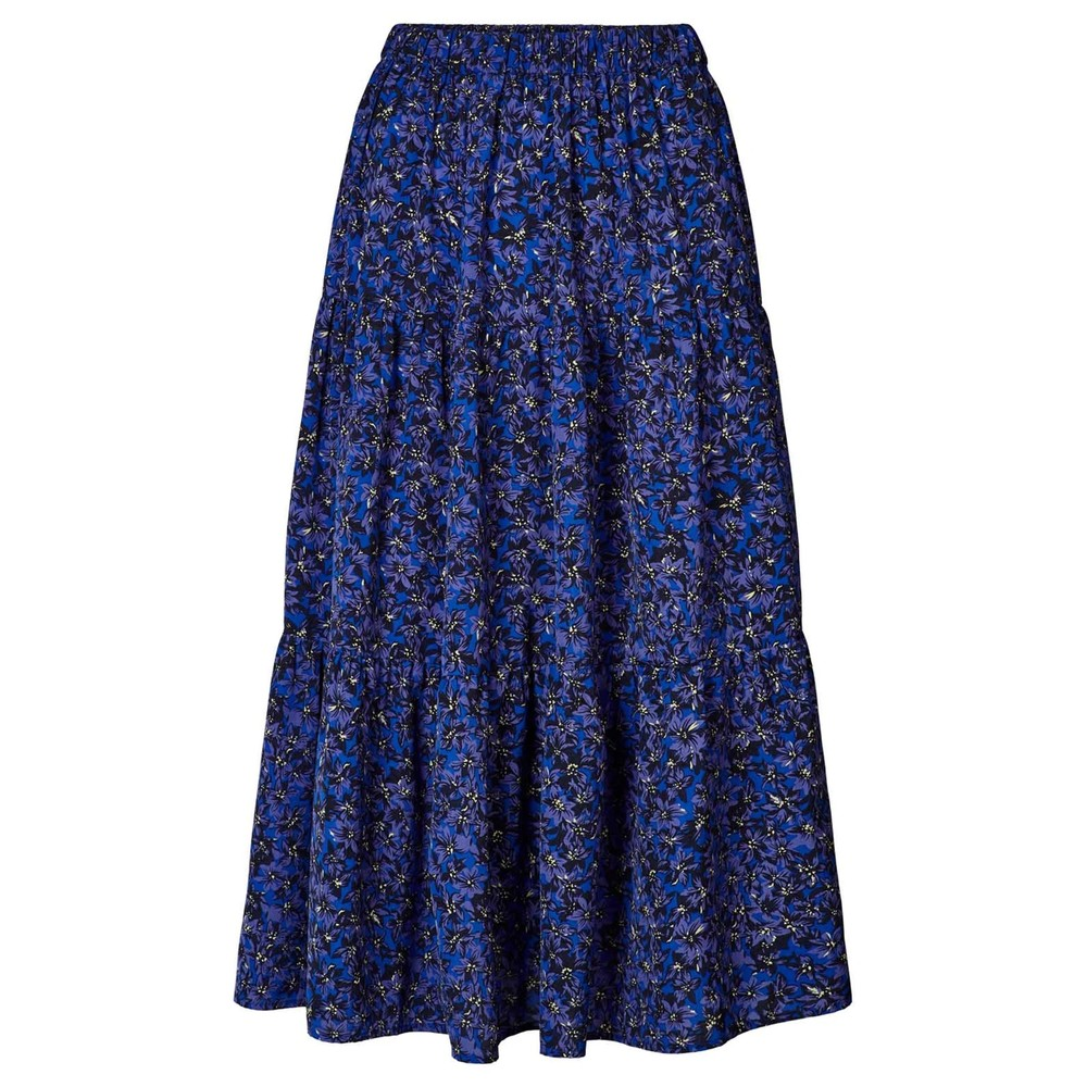 Morning Midi Skirt - Flower Print